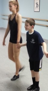 Shawn and his dance partner/BFFL Mariah