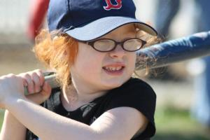 Nobody plays the game as right as Daisy of The Miracle League