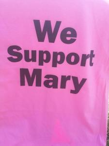 We Support Mary